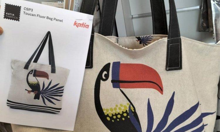atelier débutant avec création du panneau sac Katia